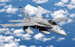 El F18 accidentado pertenecía al Ala 12.