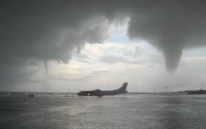 La meteorología incide directamente en la seguridad en el transporte aéreo.