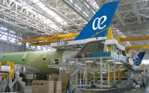 El aparato se encuentra en la fase final de ensamblaje en la factoría de Airbus en Toulouse.