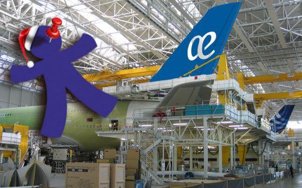 A380 AEA inocentada fin