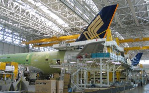 Airbus podría ralentizar aún más la producción del A380.