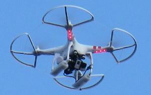 Los drones, protagonistas en Zaragoza.