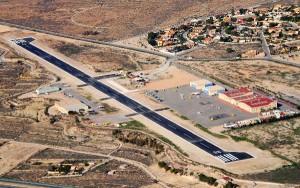 European Flyers pone a disposición de sus alumnos en Mutxamiel una pista asfaltada de 1.000 x 23 mts.