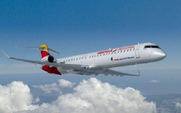 El CRJ 1000 es el caballo de batalla de la futura renovación de flota.