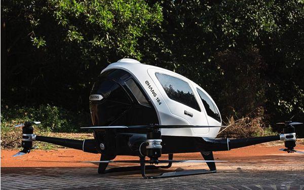 Los drones civiles cada vez son mayores y con mayores aplicaciones..