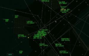 Record de gestión de vuelos en las salas de los centros de control.