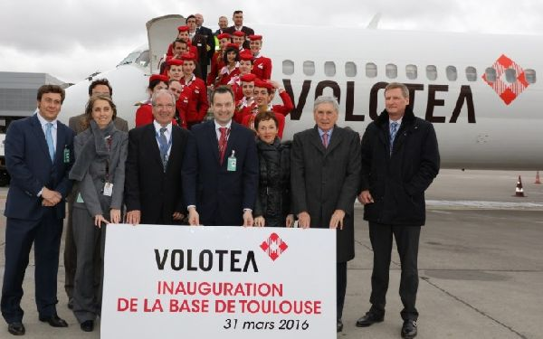 Volotea base Toulouse
