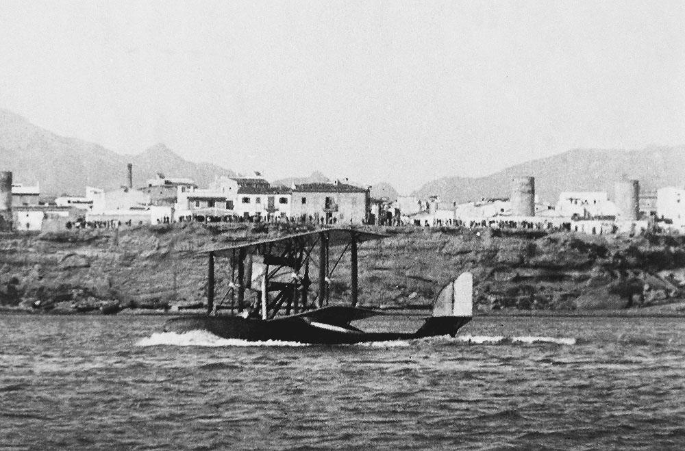 Hidroavion en Palma