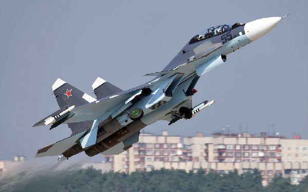 El Su-30SM es una de las joyas de la corona de la fuerza aérea rusa.