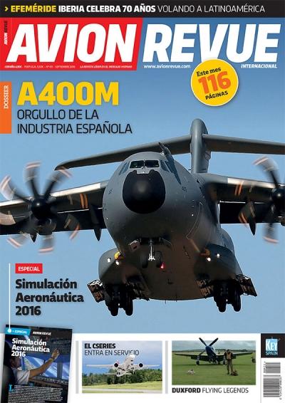 Portada Avion Revue 411