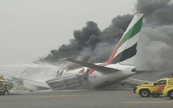 El accidente, sin víctimas, es el primero y único sufrido por la aerolínea árabe.