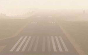 La niebla es un problema endémico en el norte peninsular.