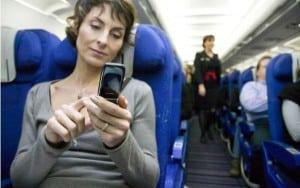 Ya no será posible esta imagen a bordo de un avión en USA.
