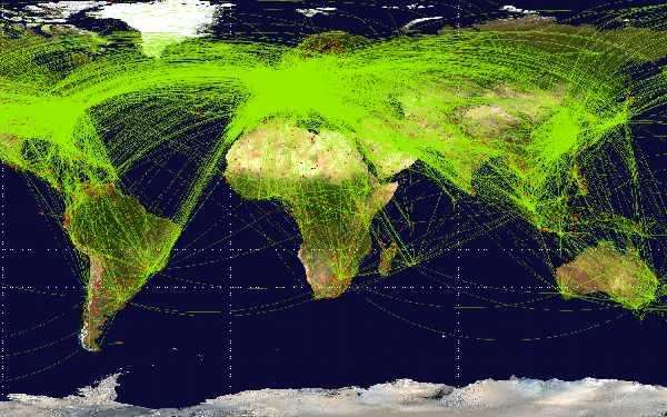 El avión continúa siendo el medio más seguro de viajar.