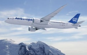 Air Europa opera el B787 en sus rutas de largo radio.