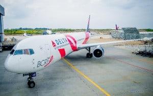 """El """"avión rosa"""" de Delta estará hoy en Barcelona."""