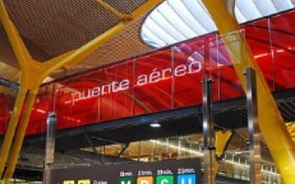 El Puente Aéreo es uno de los servicios que Iberia relanzará.