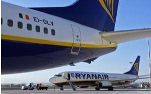 Ryanair se prepara para recrecer su flota.