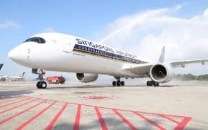 El A350 llegará a Barcelona a mediados del próximo año.