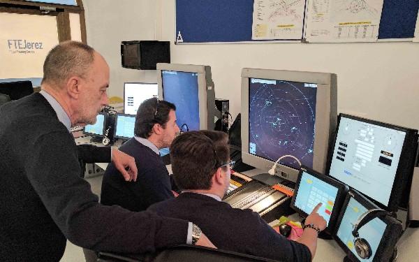 La formación ATC en FTE Jerez tiene un importante peso específico.