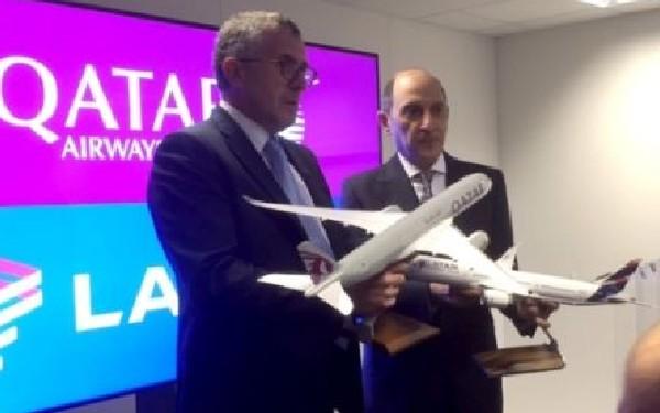 Representantes de ambas compañías comunicaron ayer en Santiago de Chile la operación.