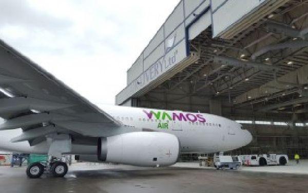 Wamos utilizará el A330-2 para el trayecto.