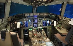 La imagen de un cockpit vacio puede convertirse en algo habitual.
