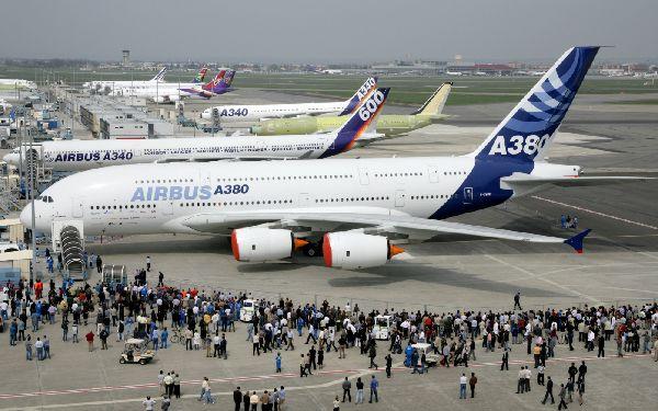 Airbus simpre ha tenido una fuerte presencia en Le Bourget.