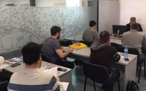 Los alumnos compaginan la formación entre las instalaciones de EF, y las aulas universitarias.