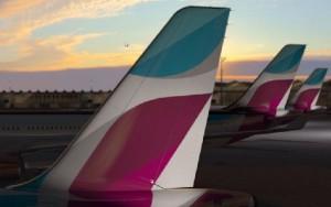 Eurowings cubrirá la cuota alemana en Palma tras la marcha de Air Berlin.