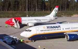 Norwegian y Ryanair