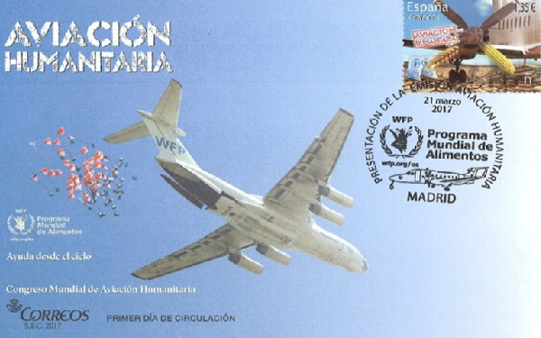La emisión homenajea el voluntariado aeronáutico.