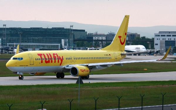 A pesar del percance, el avión tomó tierra sin novedad.