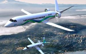 Fabricantes como Boeing también trabajan en la idea de un avión impulsado por energía eléctrica.