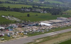 Aerosport celebra su primer cuarto de siglo recuperando la exhibición aérea en vuelo.