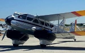 El avión ha sido puesto de nuevo en vuelo por la FIO.