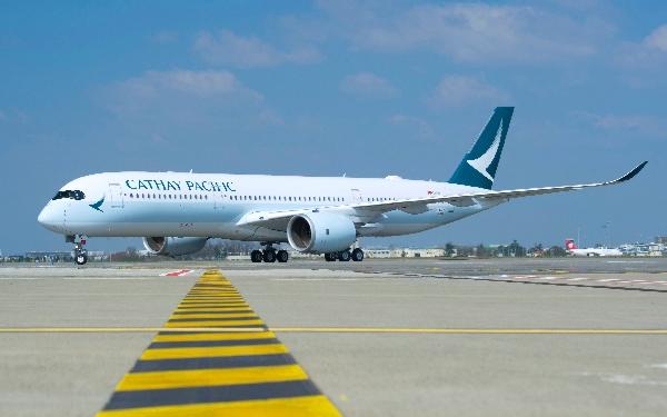 El avión utilizado para cubrir la ruta desde Barcelona es el A350-
