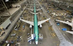 Boeing sigue recibiendo más pedidos que Airbus.