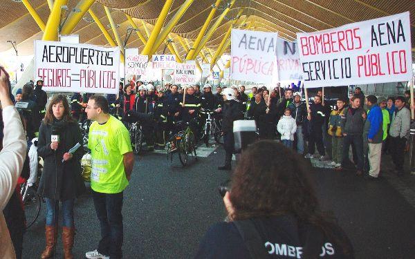 Los sindicatos exigen que los buenos resultados de Aena y Enaire reviertan en salarios y contrataciones.