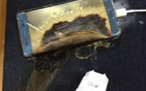 En determinadas circunstancias, las baterías de los teléfonos móviles pueden entrar en combustión espontánea.