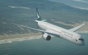 El A350 será el encargado de operar la nueva ruta regular.