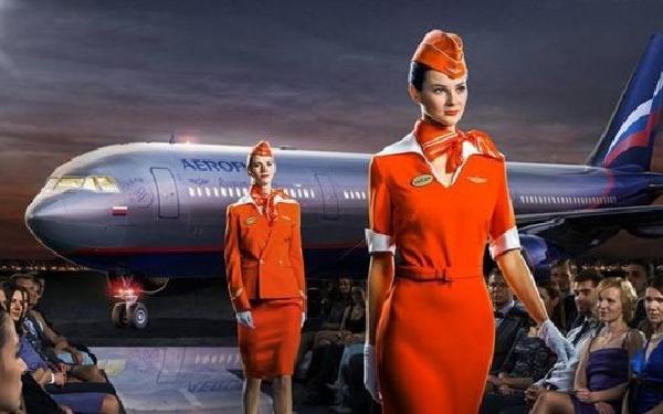 """Aeroflot prioriza la estética """"top model"""" para sus TCP."""