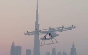 El Volocopter tiene capacidad para dos pasajeros.