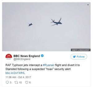 La BBC se hizo eco del suceso.