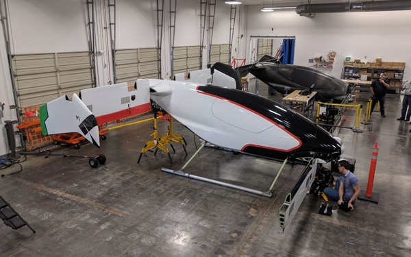 Airbus trabaja actualmente en el prototipo de pruebas a escala real.