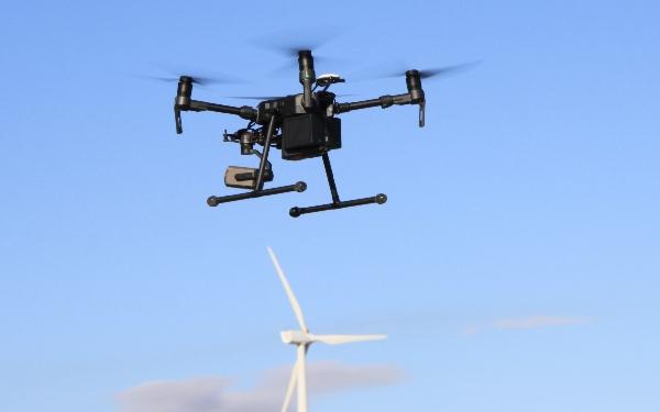 Uno de los drones utilizados en el curso.