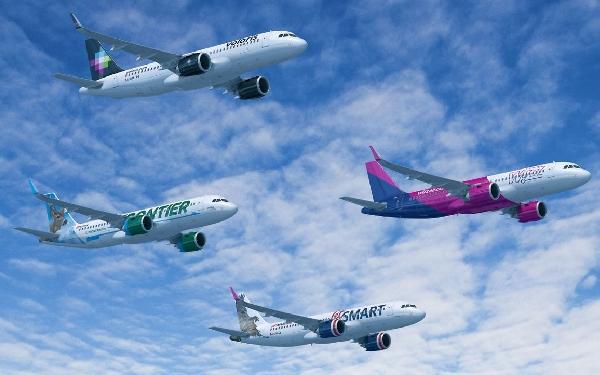 Cuatro aerolíneas se repartirán el macropedido de Indigo Partners.
