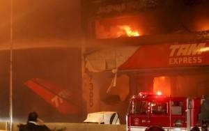 El accidente de TAM en Sao Pulo fue uno de los más terroríficos vividos en Brasil.