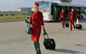 Los TCP de Alitalia estrenarán el año con nuevos uniformes.