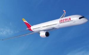 Iberia tiene encargados 16 A350-9.